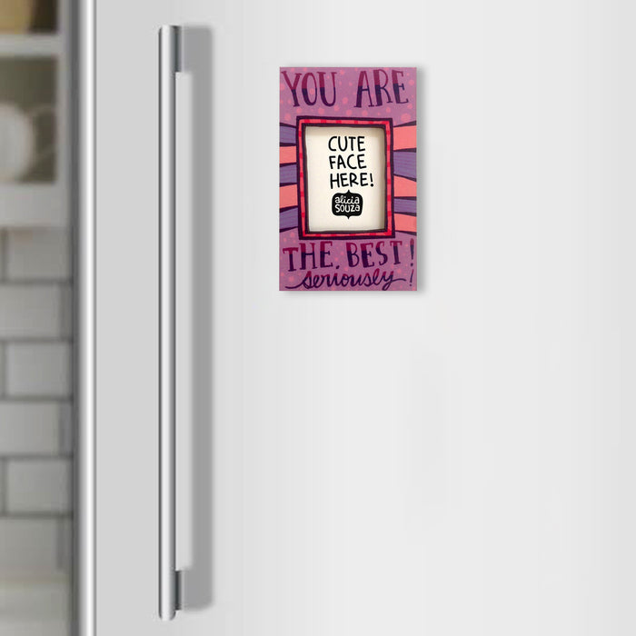 Seriously the best!-Refrigerator magnetic frame SMALL