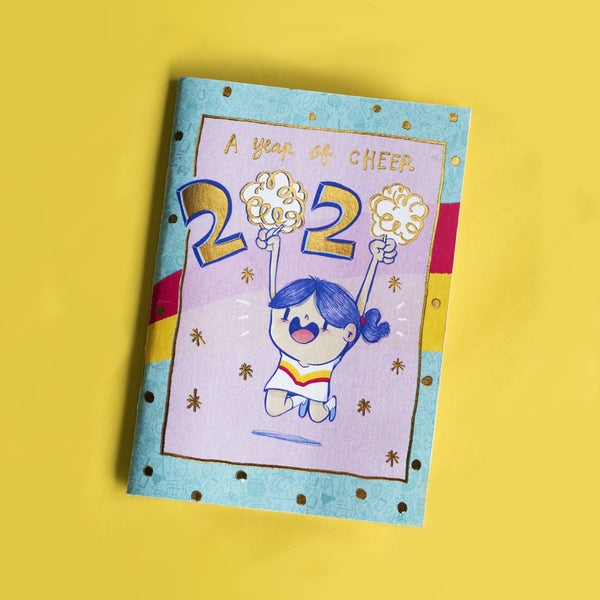 PRE ORDER : A Year Of Cheer 2020 Pocket Planner-Planner-Alicia Souza-1-Happy Wagon