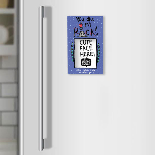 My Rock Refrigerator magnetic frame SMALL