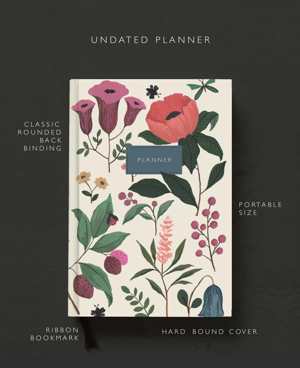 Undated Planner | Pocket Planner