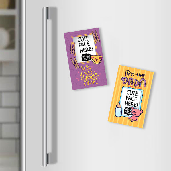 New Dad Magnetic Frames - PACK OF 2