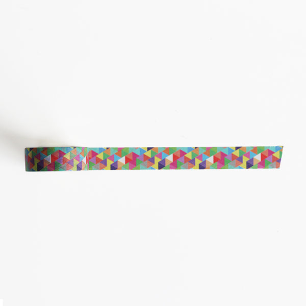 Rainbow Triangles Washi Tapes