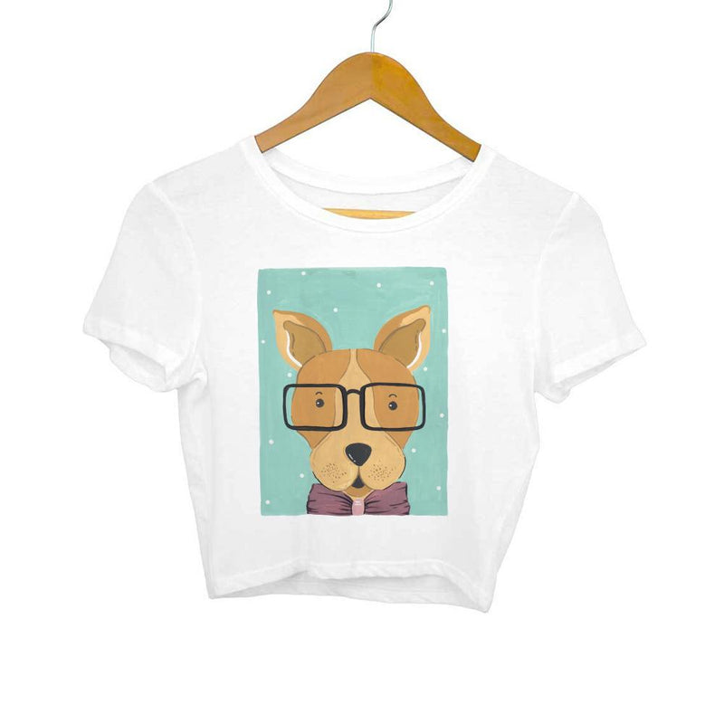 Wise doggy Crop Top