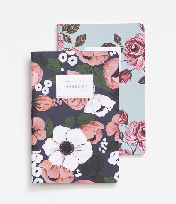 Notebooks | Anemone & Roses Set