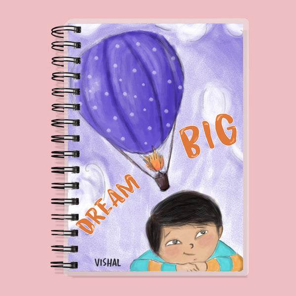 Custom Name Dream Big Kids Planner