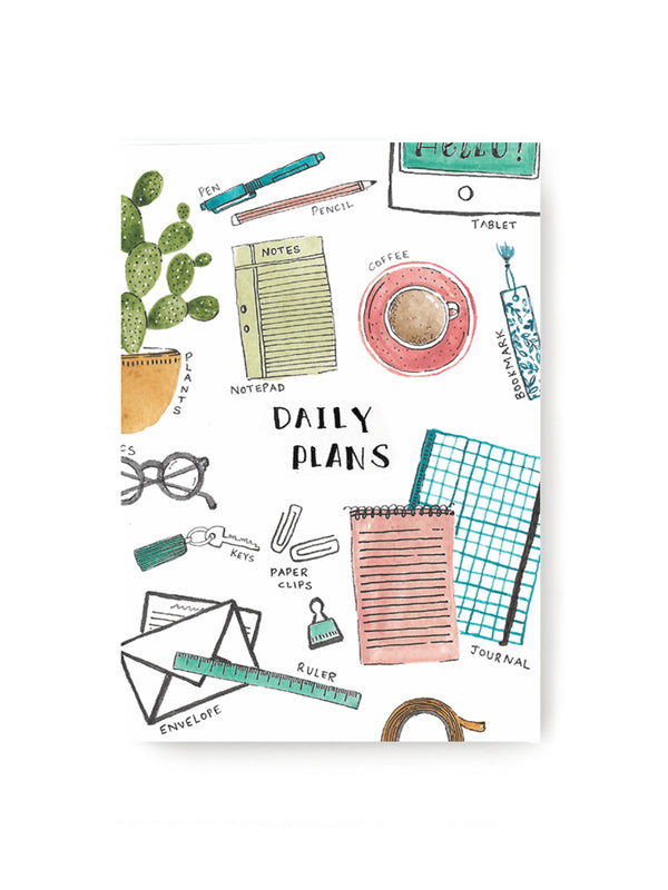 Daily Plans Notebook