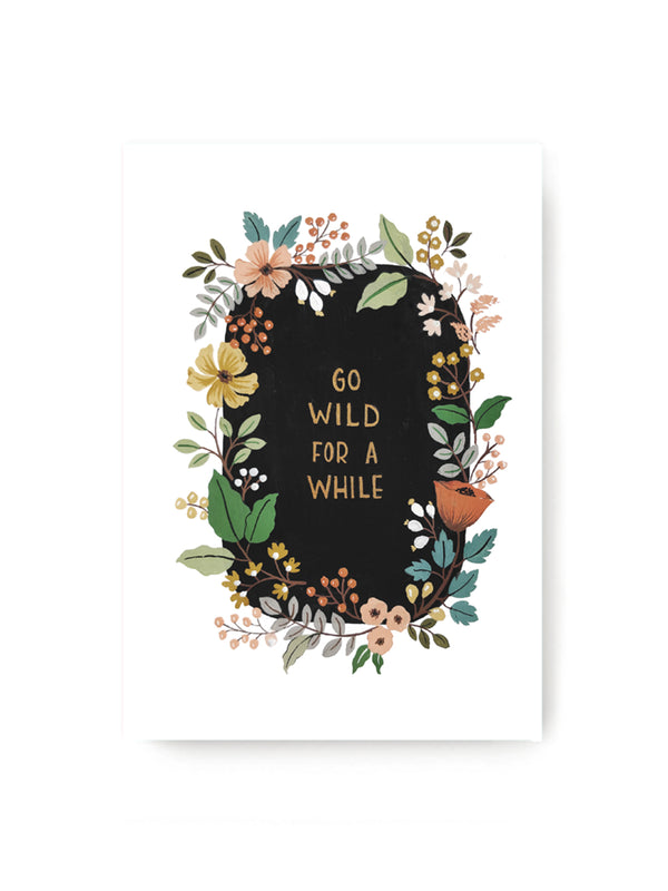 Go Wild Notebook