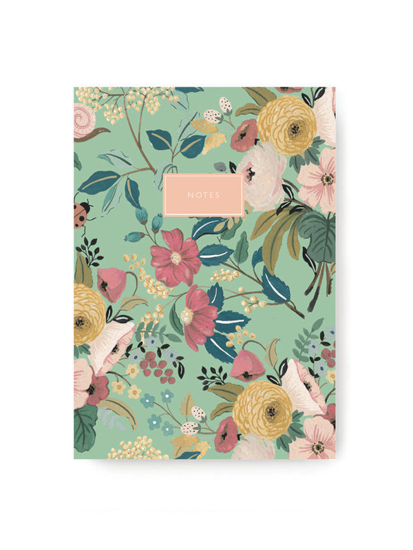 Green Garden Notebook