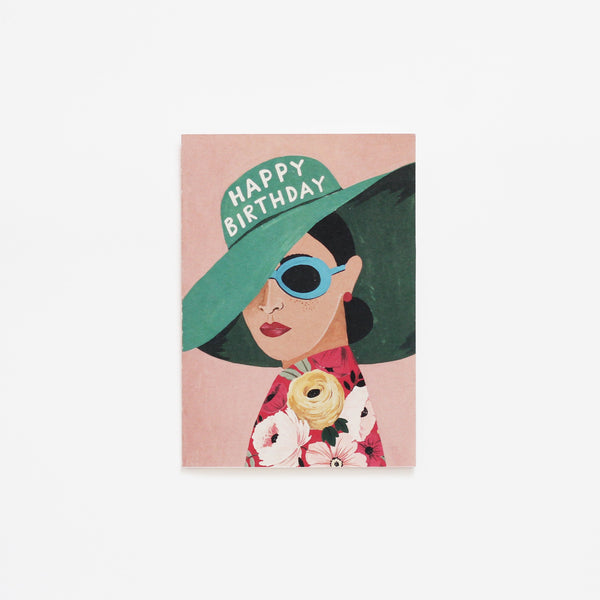 Greeting Card | Lady in a Hat
