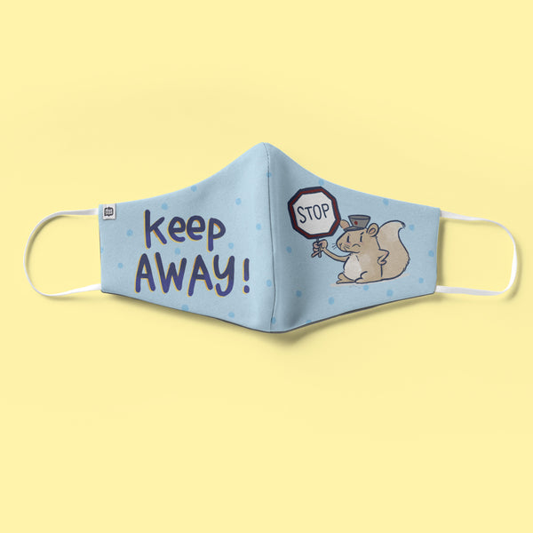 Keep Away Face Mask - Kids