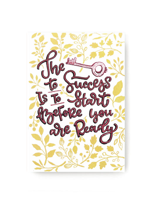 Key to Success Notebook