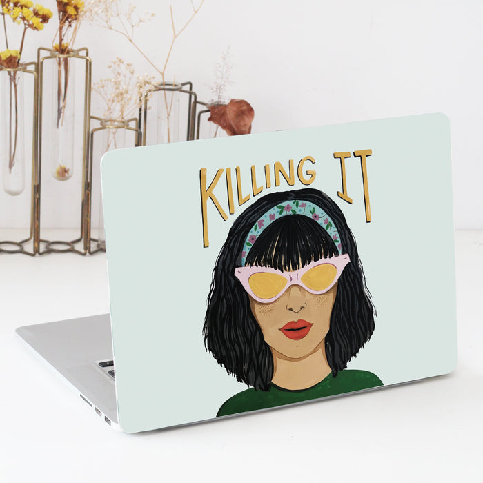 Killing It Laptop Skin