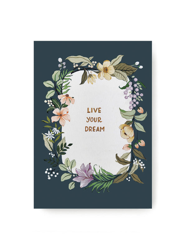 Live Your Dream Notebook