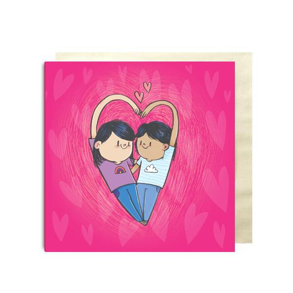 Girl Love Premium Card