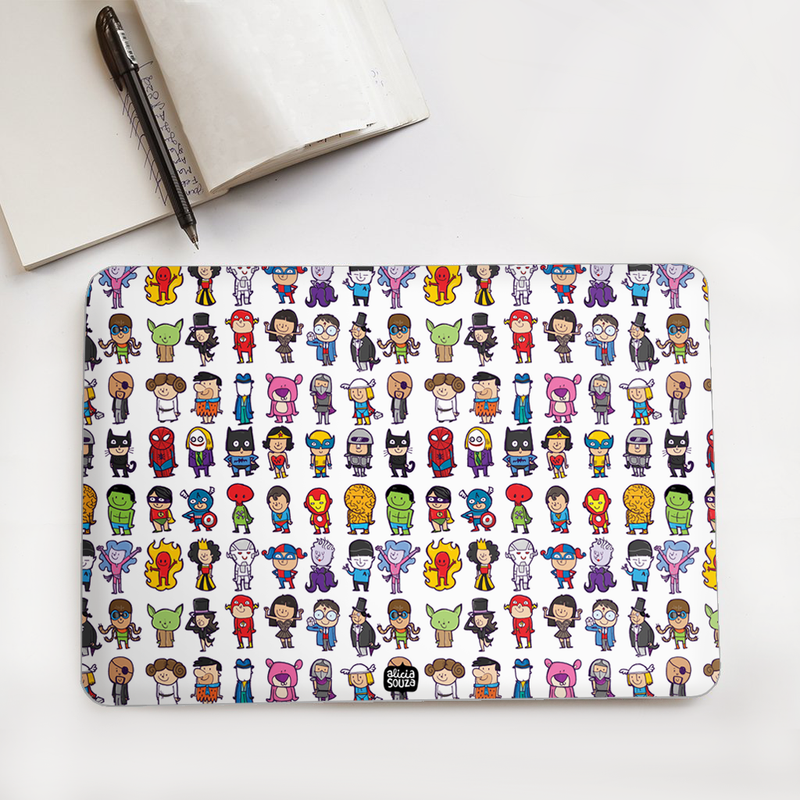 Superhero Laptop Skin