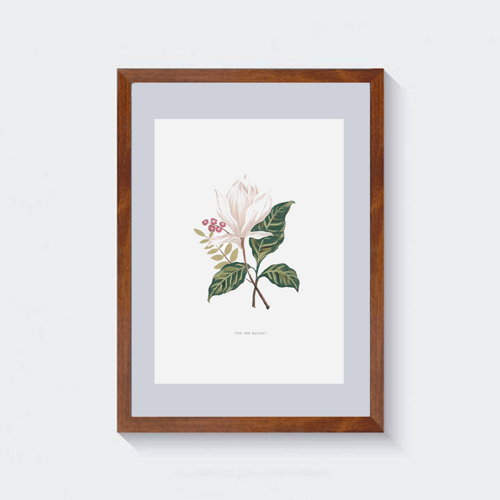 Wall Art | White Magnolia 2