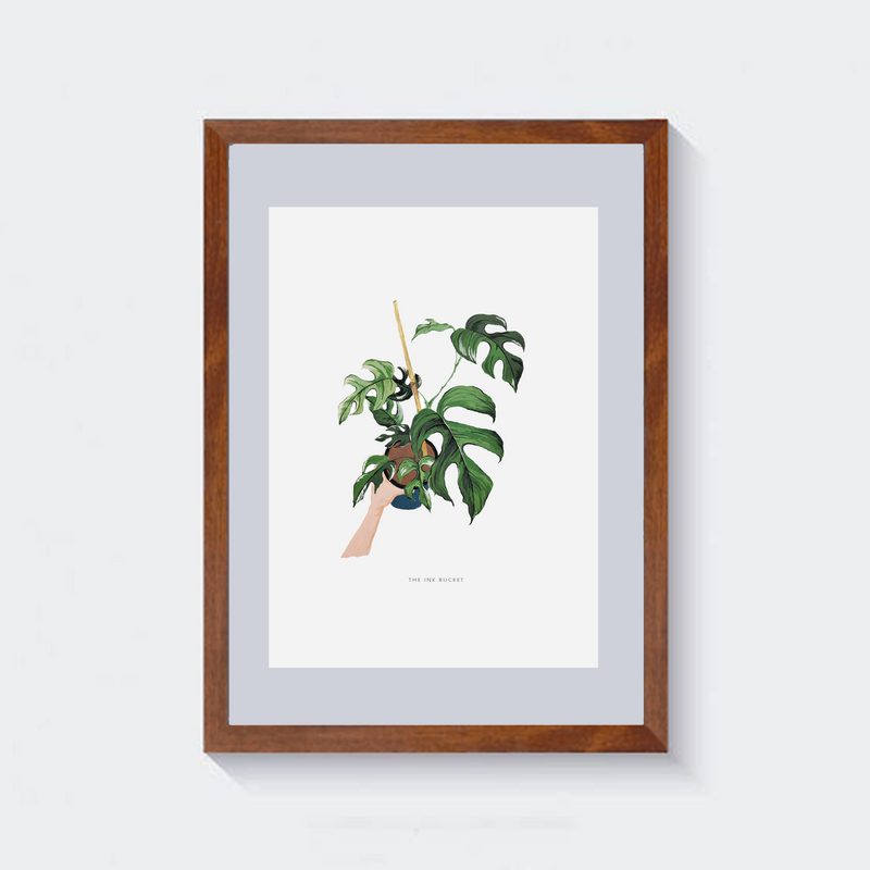 Wall Art | Planter in Hand