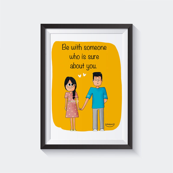 Sure About You Wall Art