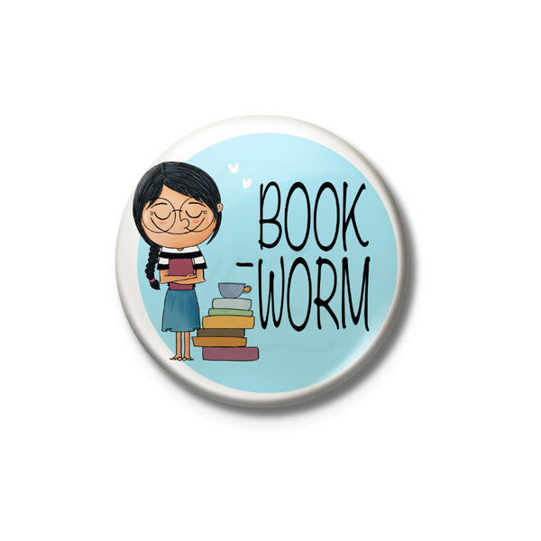 Book Worm Badge
