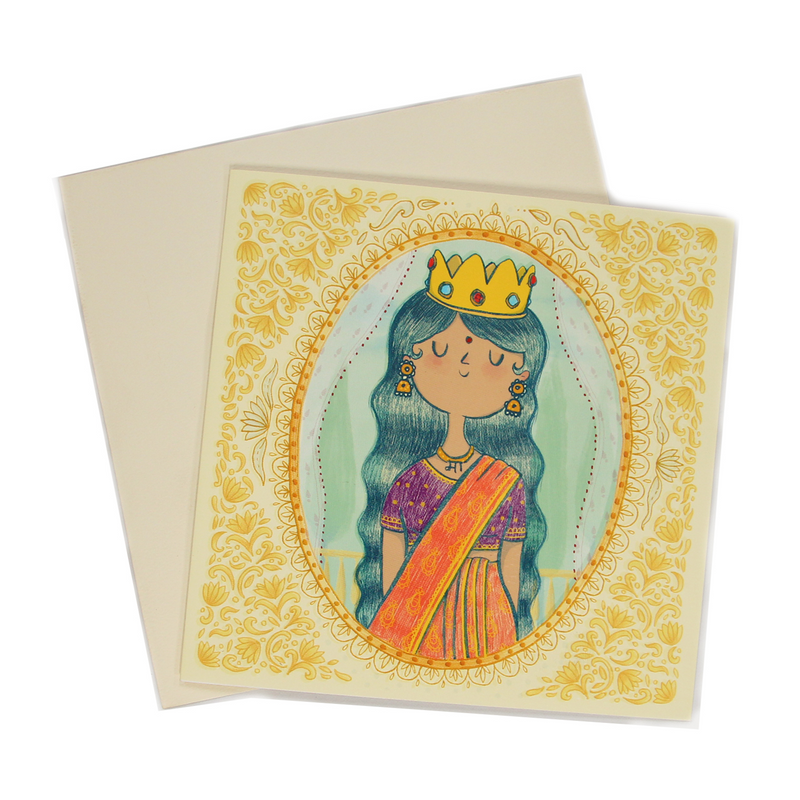 The all new Alicia Souza Mother's Day Greeting Card. Ma, you are Queen Greeting cards are here, Buy now Alicia Souza Greeting Cards.