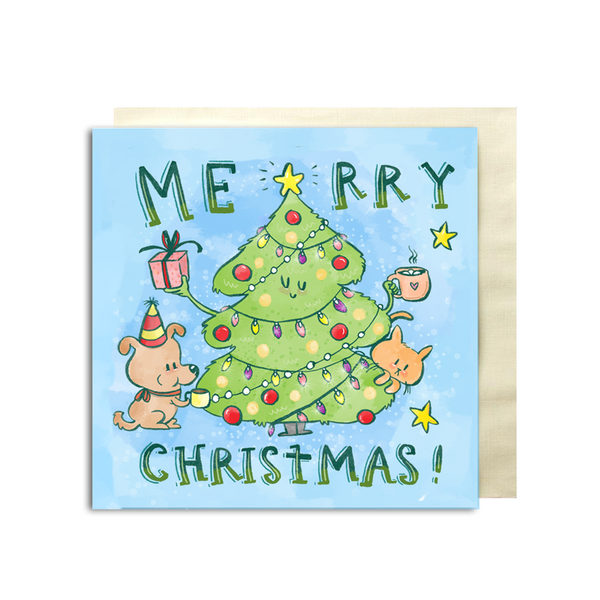 Merry Christmas Premium Card - Alicia Souza