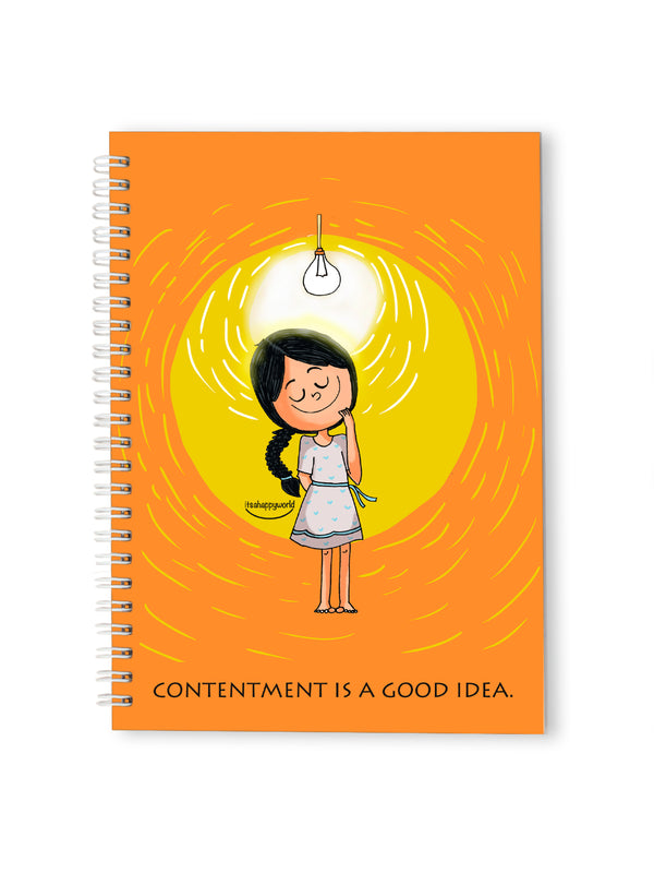 Contentment Notebook