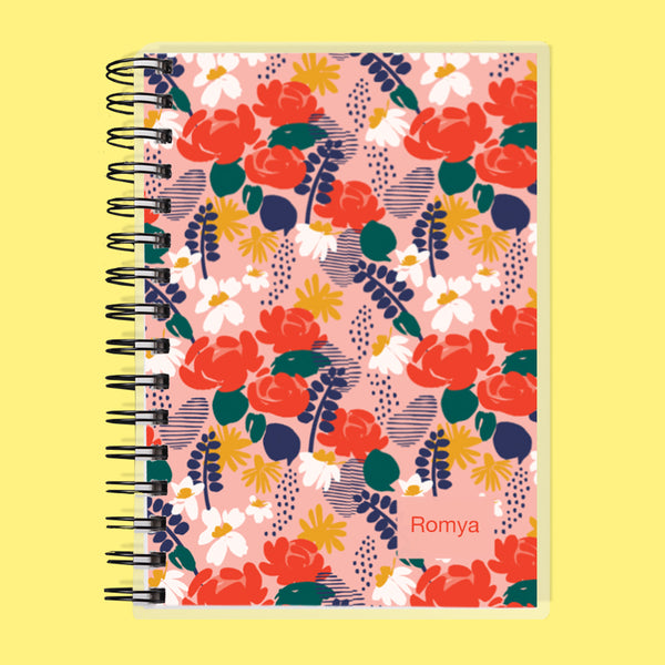 Custom Name Garden Undated Planner
