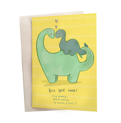 Best Dad Greeting Card