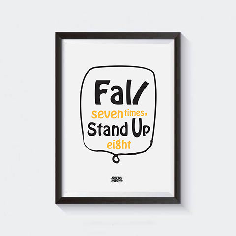 Stand Up Wall Art