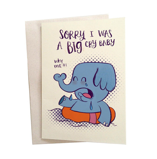 Greeting Cards - Big Elephant Greeting