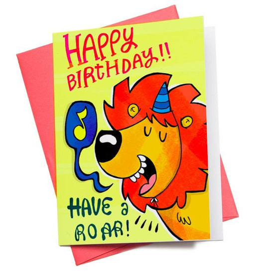Greeting Cards - Birthday Lion Greeting