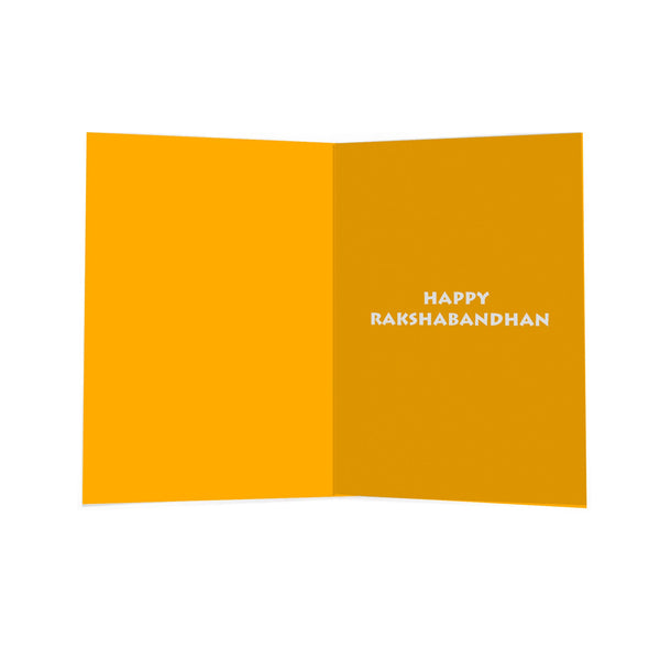 We Are A Team - Raksha Bandhan Greeting Card - A5 size