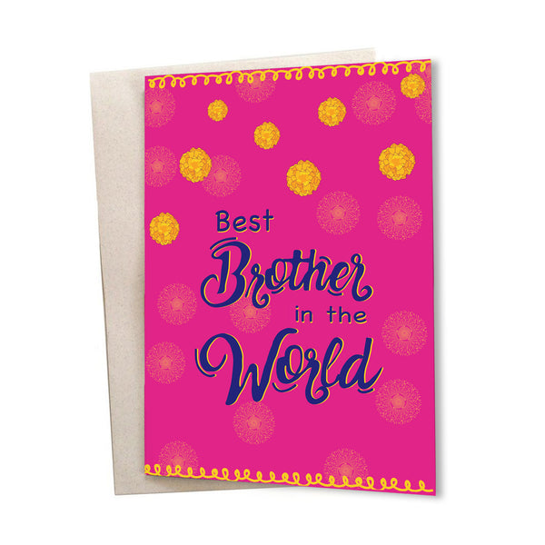 Best Brother Greeting Card