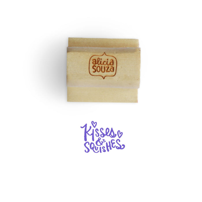 Kisses And Squishes Stamp