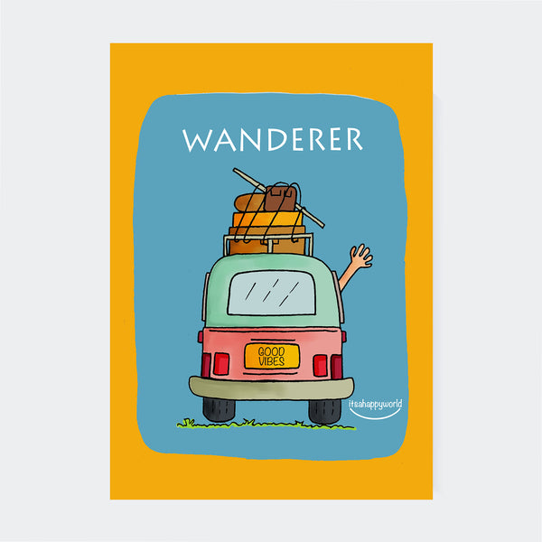 Wanderer Wall Art