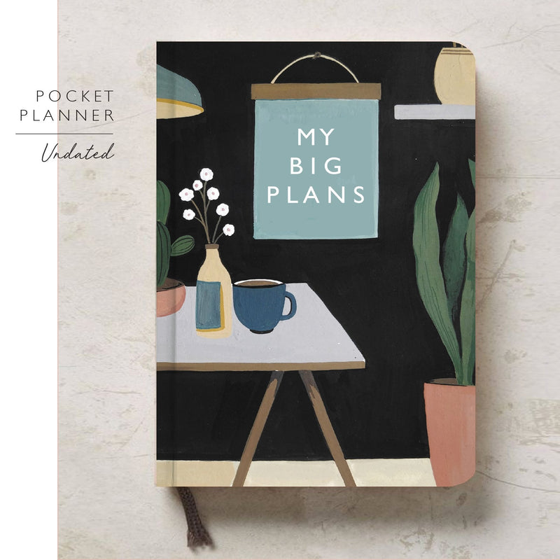 2020 Undated Planner | My Big Plans | Pre-Order - TheInkBucketstore
