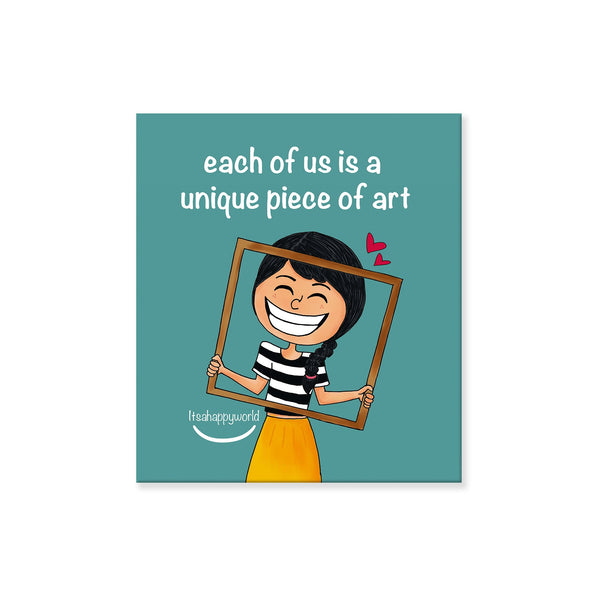 Piece Of Art Magnet