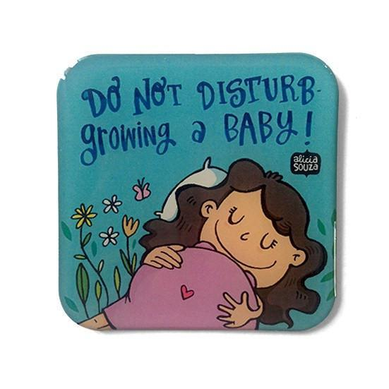 Baby On The Way Duo - CARD AND MAGNET - Alicia Souza