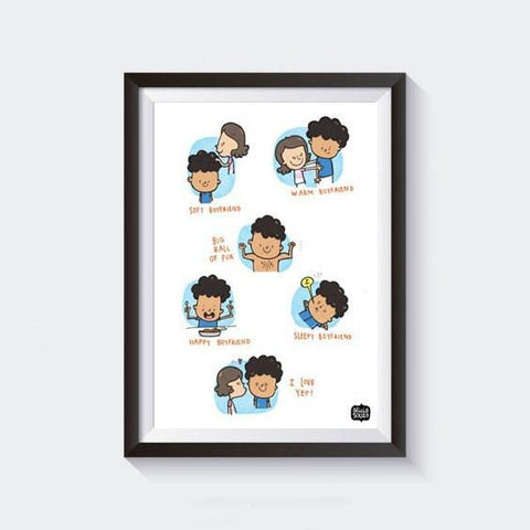 Prints - Boyfriend Wall Art