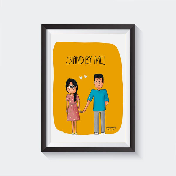 Stand By Me Wall Art