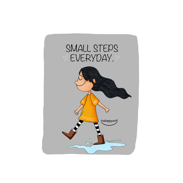 Small Steps Wall Art