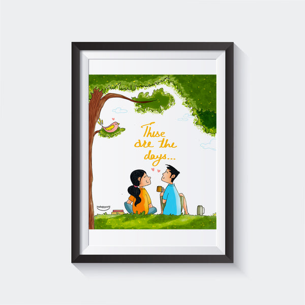 Lovely Days Wall Art