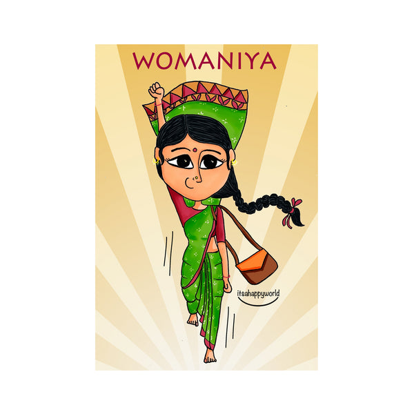 Womaniya Wall Art