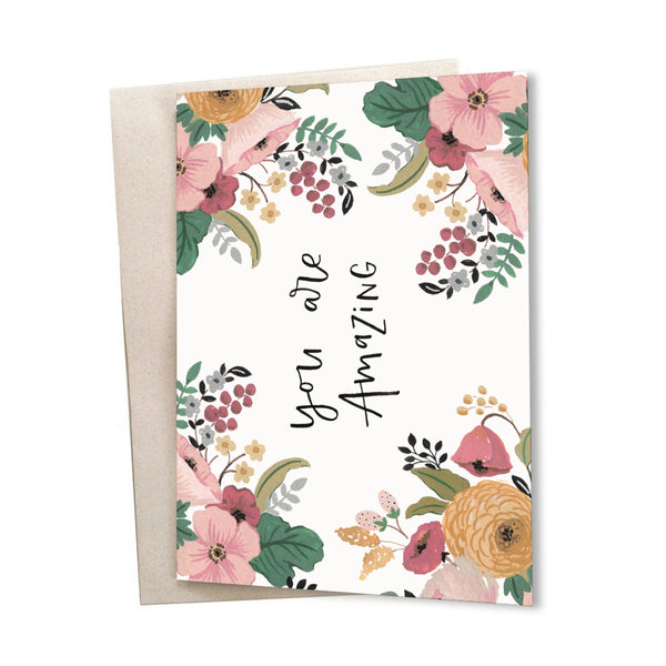 You Are Amazing - Greeting Card