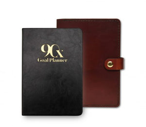 Brown Leather Cover for 90X® Goal Planner