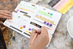 90X® Planner Sticker Pack (5 Sheets, 200+ Stickers)