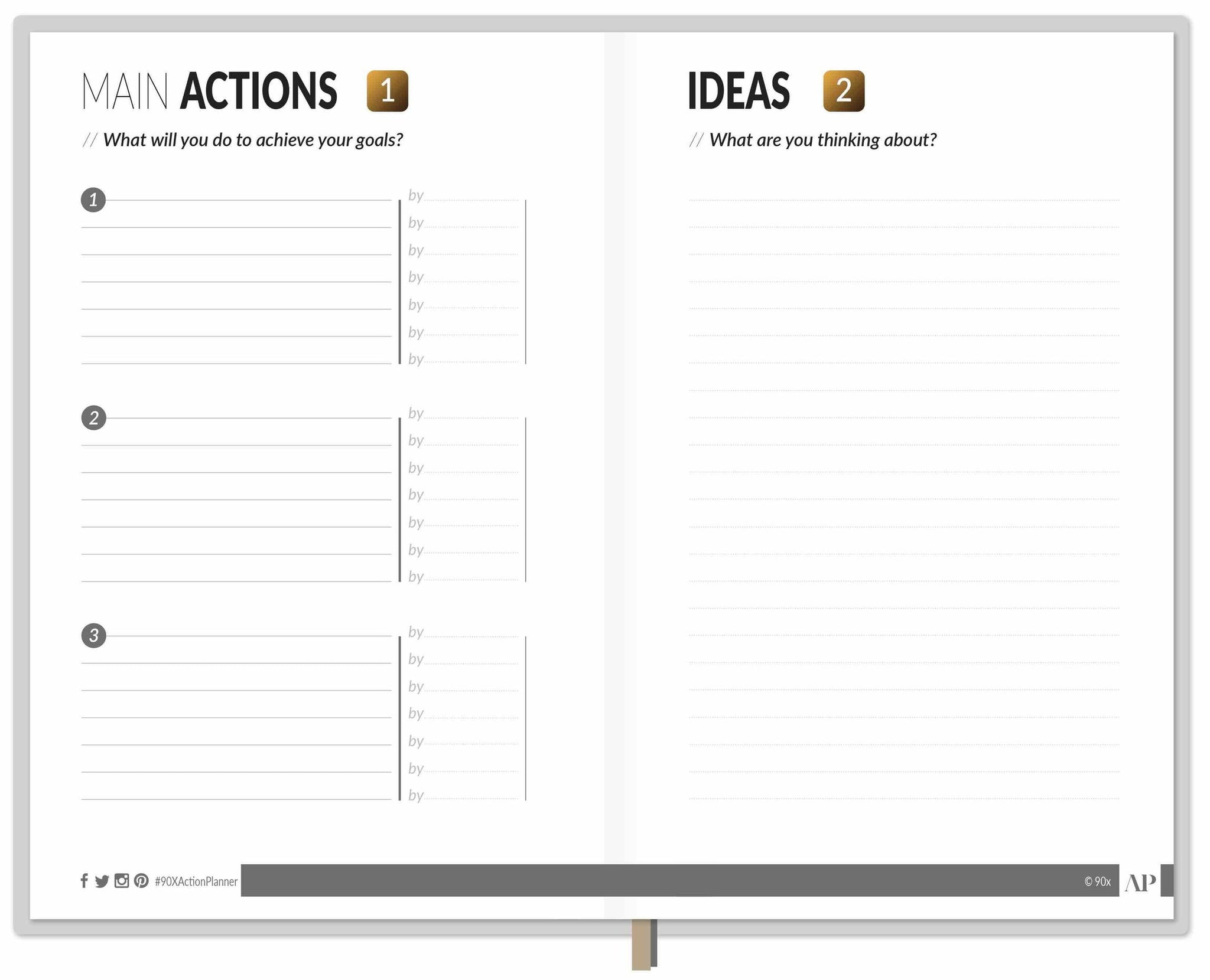 PDF for 90X® Action Planner