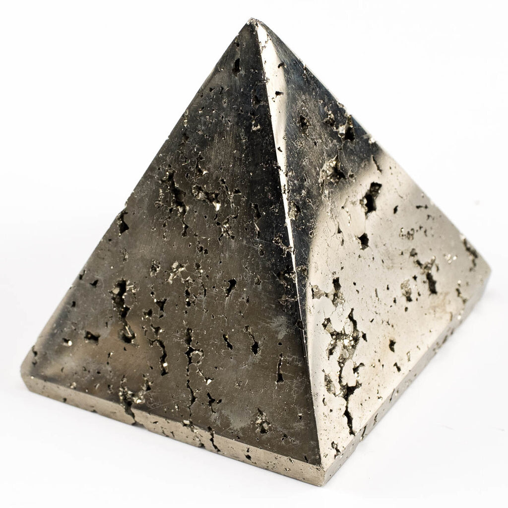 Iron Pyrite Pyramid