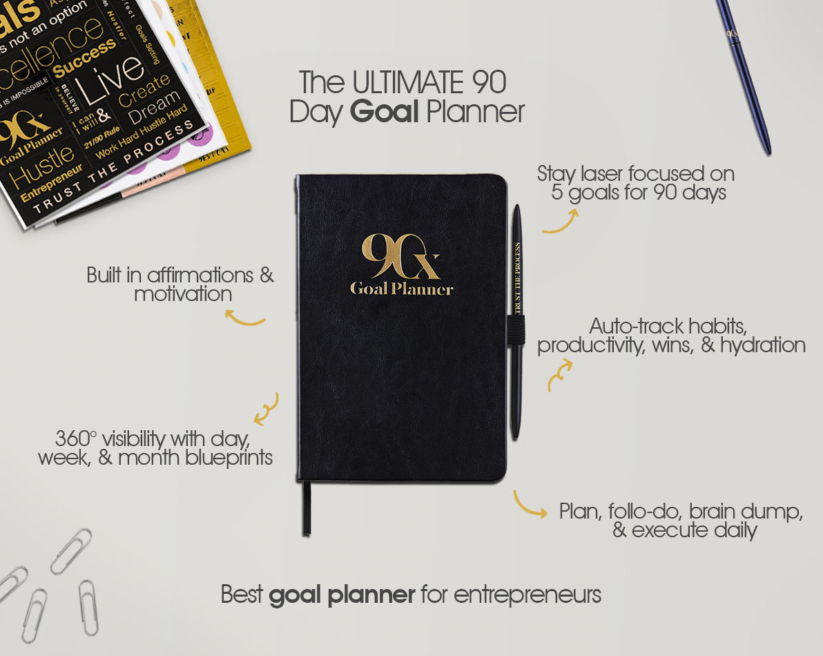 90X® Goal Planner 2.0 NEW VERSION