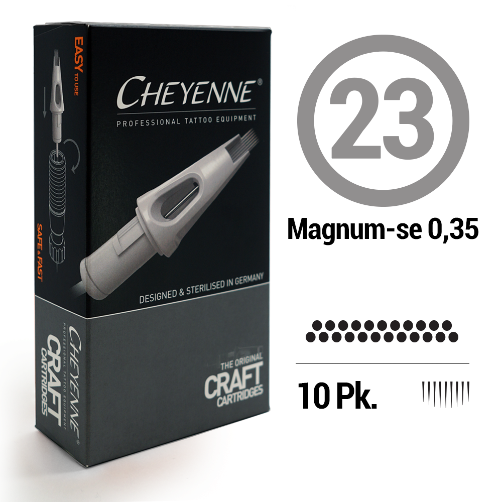 23 Magnum SE Tattoo Craft Cartridge Needle